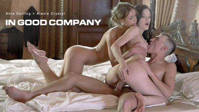 Alexis Crystal & Anie Darling In Good Company